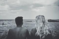 Dima&Masha (delistjanova) Tags: sea love odessa summer blond monochrome people nature blakandwhite amore  couple