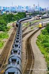 City supply line (Beyond Trains) Tags: csx csxt csxtransportation train transport transportation fossilfuel oil crudeoil tanktrain pipeline nyc newyork newjersey