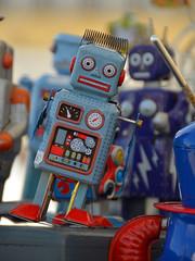 Robots (alderney boy) Tags: brittany finistre robot toy brocante blue dial meter machine douarnenez
