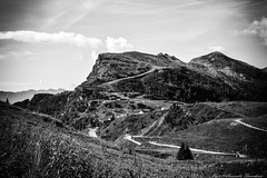 The trail to you ... (alessandrafinocchiaro67) Tags: monochrome blackwhite mountain nikond750 beauty landscape field nikonflickraward nicefeelings