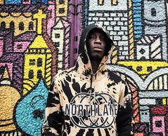 chameleon L1009715 (rafhuggins) Tags: london south bank chameleon hood hoodie graffitti grafitti black youth leica 240