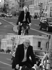 [La Mia Citt][Pedala] con il BikeMi (Urca) Tags: milano italia 2016 bicicletta pedalare ciclista ritrattostradale portrait dittico nikondigitale mir bike bicycle biancoenero blackandwhite bn bw bnbw 881141 bikemi bikesharing