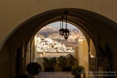 Catholic Church of St John the Baptist in Fira, Santorini (NativePaul) Tags: canon catholic church fira greece holiday ilovelamp island lamp light mediterranean santorini travel vacation