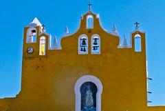 convento de San Antonio de Padua (travelben) Tags: convento de san antonio padua izamal yucatan mexico color architecture couvent church america yellow sky atrio arcos amarillo franciscano franciscan monastery