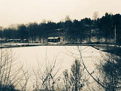 Mrtviken - Stockholm (Jelena1) Tags: mrtviken stockholm stokholm estocolmo winter vinter zima invierno hiver snow sneg sn nieve neige ekensberg bay zaliv bucht baie baha schnee water wasser voda vatten agua eau ice led eis hielo glace is cloudysky mlaren sweden sverige schweden svedska suecia sude