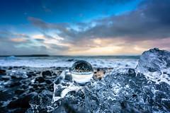 Jkulsrln Dusk (DSC9457) (DJOBurton) Tags: iceland jkulsrln crystalball