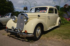 1952 Mercedes Benz  170 DS (pontfire) Tags: 1952 mercedes benz 170 ds mercedesbenz forgesleseaux hautenormandie seinemaritime germancars oldcars antiquecars classiccars vieillevoiture voitureancienne voituredecollection voitureallemande car cars auto autos automobili automobile automobiles voiture voitures coche coches carro carros wagen pontfire nikon france normandy normandie worldcars voituresanciennes ftedelandelle