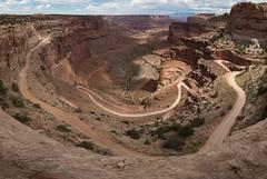 Shafer Canyon road (mattsj1984) Tags: nationalparks shafercanyonoverlook canyonlandsnationalpark parks
