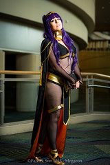 SP_45808 (Patcave) Tags: costumes anime film canon comics emblem movie fire eos book photo dc costume orlando comic photoshoot cosplay f14 culture 85mm sigma pop hallway fantasy convention comicbook scifi snapshots megacon marvel ef 1740mm f4 2015 patcave 5d3 tharja megacon2015