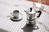 Old Moka pot (borishots) Tags: mokapot moka coffee colors coffeetime coffeemaker coffeemat light shadows cup table tablecloth white retro analog vintage canon300d krkojzla borishots