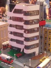 Sydney Brickshow 2015 (timmyc1983) Tags: city houses building station modern buildings fire town apartment lego balcony sydney police trains modular creator curved modification sets mocs moc brickshow