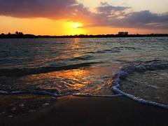 Sunset from Haulover Sandbar #miamisaltlife (miamism) Tags: marina boating miamiviews miamilife miamism miamiboating miamilifestyle miamicolors miamifun miamisunsets hauloversandbar realtorlife miamisaltlife miamismboat