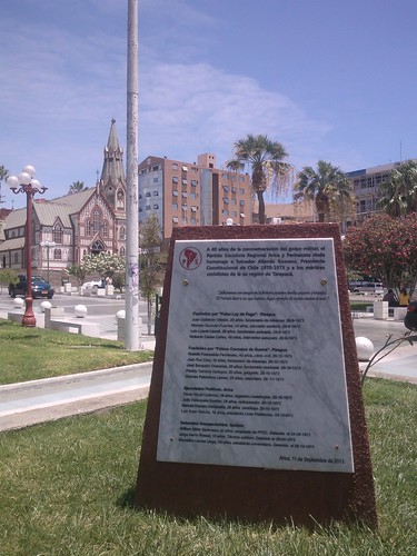 Arica  Plaza de Armas
