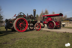 GNSF Beamish 019 (craigelias1) Tags: museum great traction engine fair steam beamish roller locomotive northern waggon 2015 gnsf