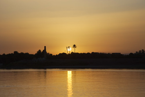 Another Nile sunset!