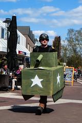 Corporal 1st class and his DIY Tank (GorissM) Tags: netherlands canon army military nederland powershot un ww2 rank 70 liberation troops worldwar nato corporal leger jaar vn ermelo bevrijdingsdag bevrijding militair wereldoorlog sx280 korporaal