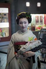 (Clr) Tags: japan kyoto maiko geisha kimono gion kioto japon kanzashi clarapanigazzi mameroku