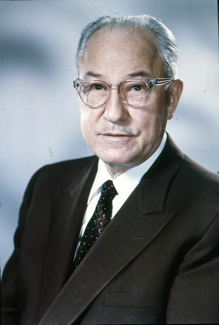 City Light Superintendent Eugene R Hoffman, circa 1950
