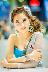 DSC07062 (inkid) Tags: portrait girl female thailand model women pretty dof bokeh bangkok f14 sony 85mm sigma indoor dslr motorshow a900 hsm motorshow2015 mts2015