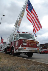 MacBoston Ladder 18 (zamboni-man) Tags: county america truck fire office state flag saratoga police upstate american springs valley law hudson plow enforcement sheriff volunteer fleet ems services whelen albnay