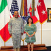 Debra S. Wada, assistant Secretary of the Army for Manpower and Reserve Affairs  visits