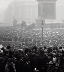 1923. Armistice Day, Trafalgar Square, Westminster, London, SW1. UK. (sgterniebilko) Tags: 1920s or trafalgar police 123 row whitehall 20s armisticeday stationalpha divisionscotland policecannon deltaadpolice squarewestminsterlondonsw1ukmetropolitan constableswhitehallcenotapha yardpolicelondon