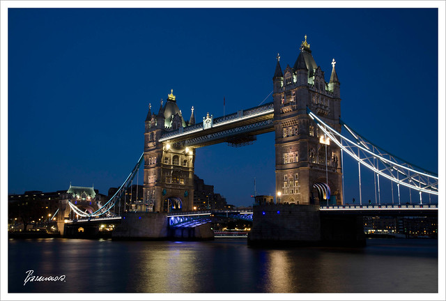 Illuminated Tower Bridge