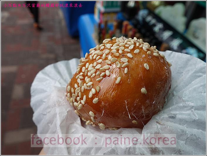 統營特色小吃蜂蜜紅豆球 (4).JPG