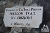 Targa Taranta Peligna - Freedomtrail