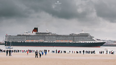 Queen Elizabeth IV (Simon Purcell Photography) Tags: liverpool queenmary2 cunard queenvictoria mersey queenelizabeth wirral threequeens 175thanniversary 3queens