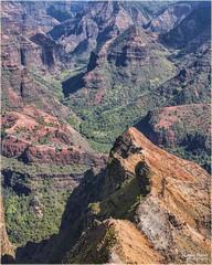 Waimea canyon, Hawaii (marneejill) Tags: mountains beautiful hawaii canyon valley kauai waimea