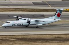 C-GUJZ / Bombardier DHC-8Q-402 / 4516 / Jazz Air (A.J. Carroll (Thanks for 1 million views!)) Tags: toronto jazz pearson yyz bombardier 428 qk staralliance 4516 jazzair dh4 cyyz dhc8400 dh84 y74 jza dhc8q402 pw150a aircanadaexpress cgujz c07a7c