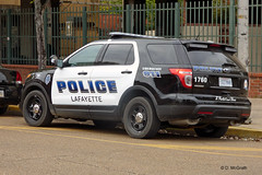 Lafayette PD_P1070251 (pluto665) Tags: ford car explorer squad suv cruiser piu