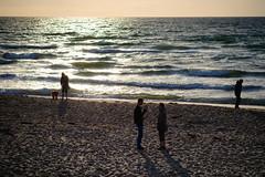 Settling Sun (Poul-Werner) Tags: sunset beach strand denmark zealand dk danmark sommerferie summervacation solnedgang tisvildeleje sjlland summerbreak capitalregionofdenmark tisvildestrand