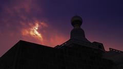 divine.. (hailin.elle) Tags: temple sky sun taiwan kaoshiung asia outdoor structure foguangshan sunset