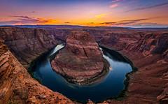 Horseshoe Bend (yecatsiswhere) Tags: page arizona usa grandcanyon water formations river sunset