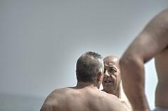 contesti estivi (eliobuscemi) Tags: beach estate spiaggia volti facce