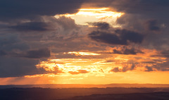 Cloudscape_6_9X7A0530 (timbertree9) Tags: westmidlands cloud clouds orange sunset burst light beams dark moody clenthills england summer sky skyline cloudsstormssunsetssunrises stormysky cloudbreaks outdoor calmbeforethestorm