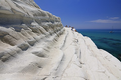 on the (marl) glacier (claude05) Tags: sicily agrigento realmonte scaladeiturchi coast