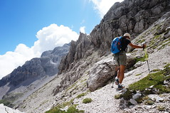 Mountain trip (samuelefrassine) Tags: mountain trip alpinist climbing dolomiti trekking hiking hiker mountains landscape nature natural
