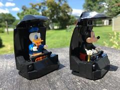 LEGO - Doombuggies (TJJohn12) Tags: new square liberty orleans lego disneyland magic kingdom disney haunted vehicles rides mansion waltdisneyworld attractions