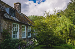 Chocolate-box Cottage (Northaway Photography) Tags: house cottage summer trees grass flowers