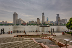 riverview (stevefge) Tags: china shanghai architecture skyline rivers huangpu landscape people reflectyourworld