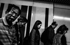 (Kunotoro) Tags: china street city people urban bw black streets monochrome asian photography hongkong blackwhite asia central chinese streetphotography streetlife soe bnw mtr asiapeople stphotographia streetpassionaward blackwhitepassionaward flickrtravelaward