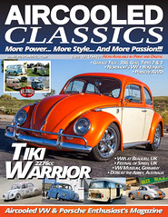 Aircooled Classics Issue 19 (Eric Arnold Photography) Tags: vw volkswagen bug beetle type1 aircooled classics magazine mag feature shoot photoshoot cover covershot canon t3i utah saratogasprings ut classic vintage retro tiki warrior published