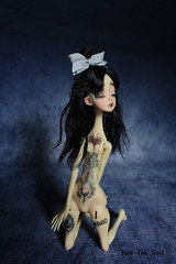 Needle (Vali.Tox.Doll) Tags: ettie nefer kane neferkane circuskane circus bjd doll ball jointed makeup custo
