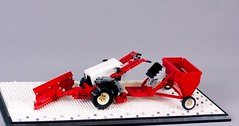 belos_17 (pehter aka ibbe) Tags: tractor lego gravely mocs lawnmover belos