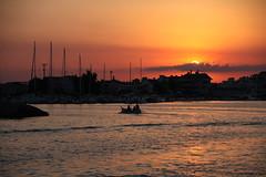 Sicily sunset (Hlose Picot) Tags: marzamemi sunset sea tramonto port porto coucherdesoleil paradise paradiso summer friends happy sicilia sicile sicily