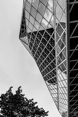 Seattle Central LIbrary DSC03980-Edit (nianci pan) Tags: abstract seattle centrallibrary curve line pattern geometry geometric city cityscape landscape urban nianci pan sony sonyalpha dslr sonyphotographing architecture building reflection