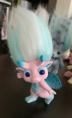 skylanna (meimi132) Tags: zelfs zelf series6 cute adorable trolls skylanna dragon pink wings blue